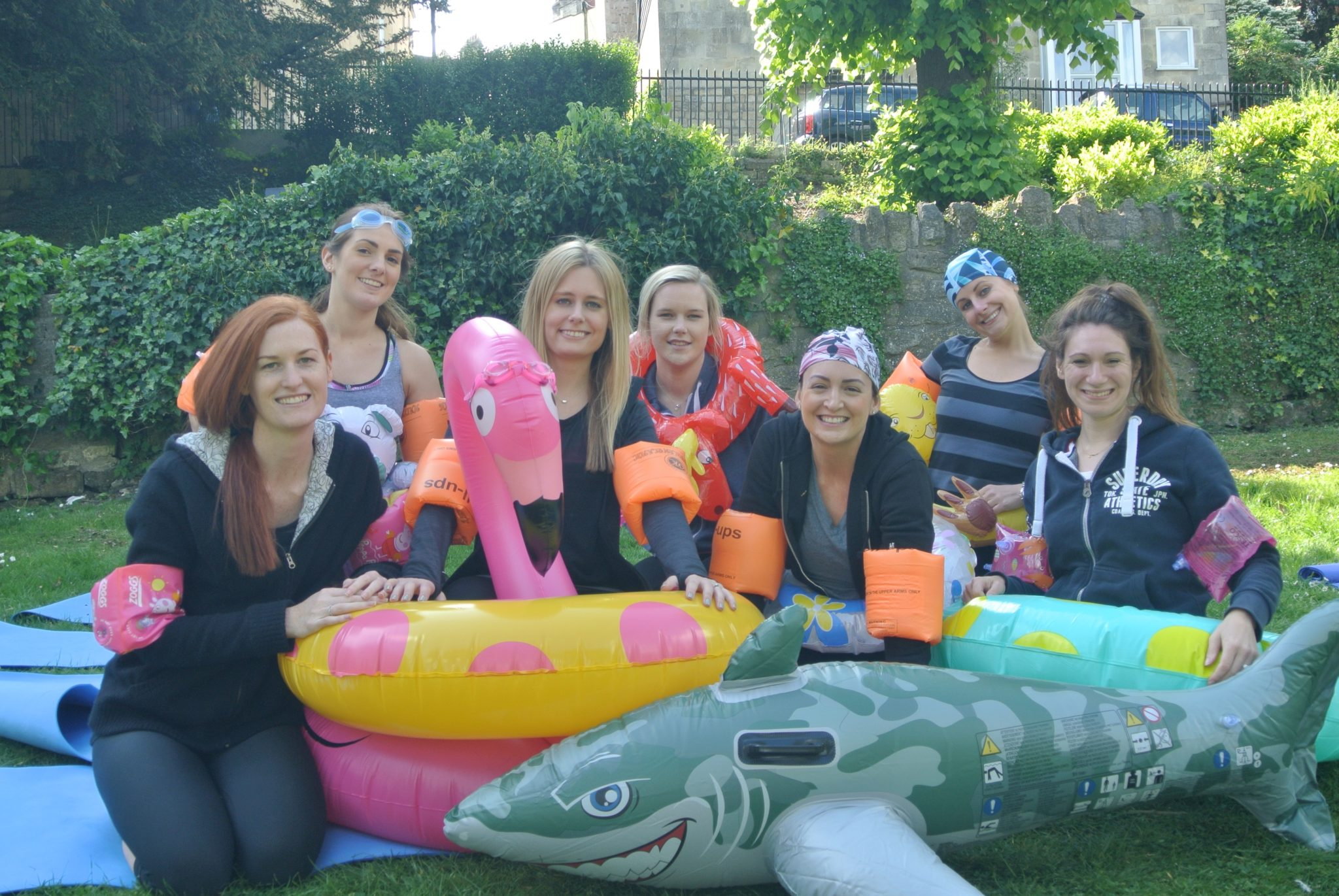Hen party bath