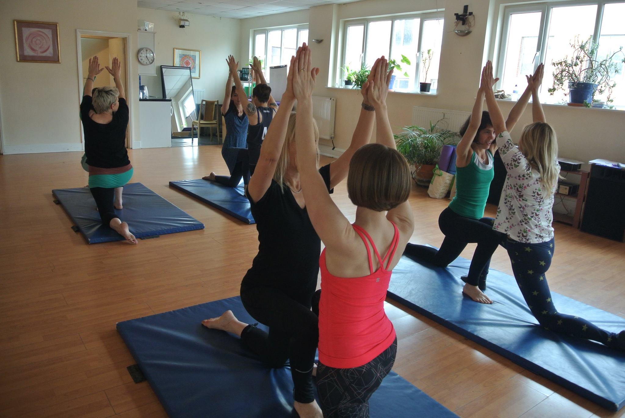 Hen party partner yoga Bath Bristol