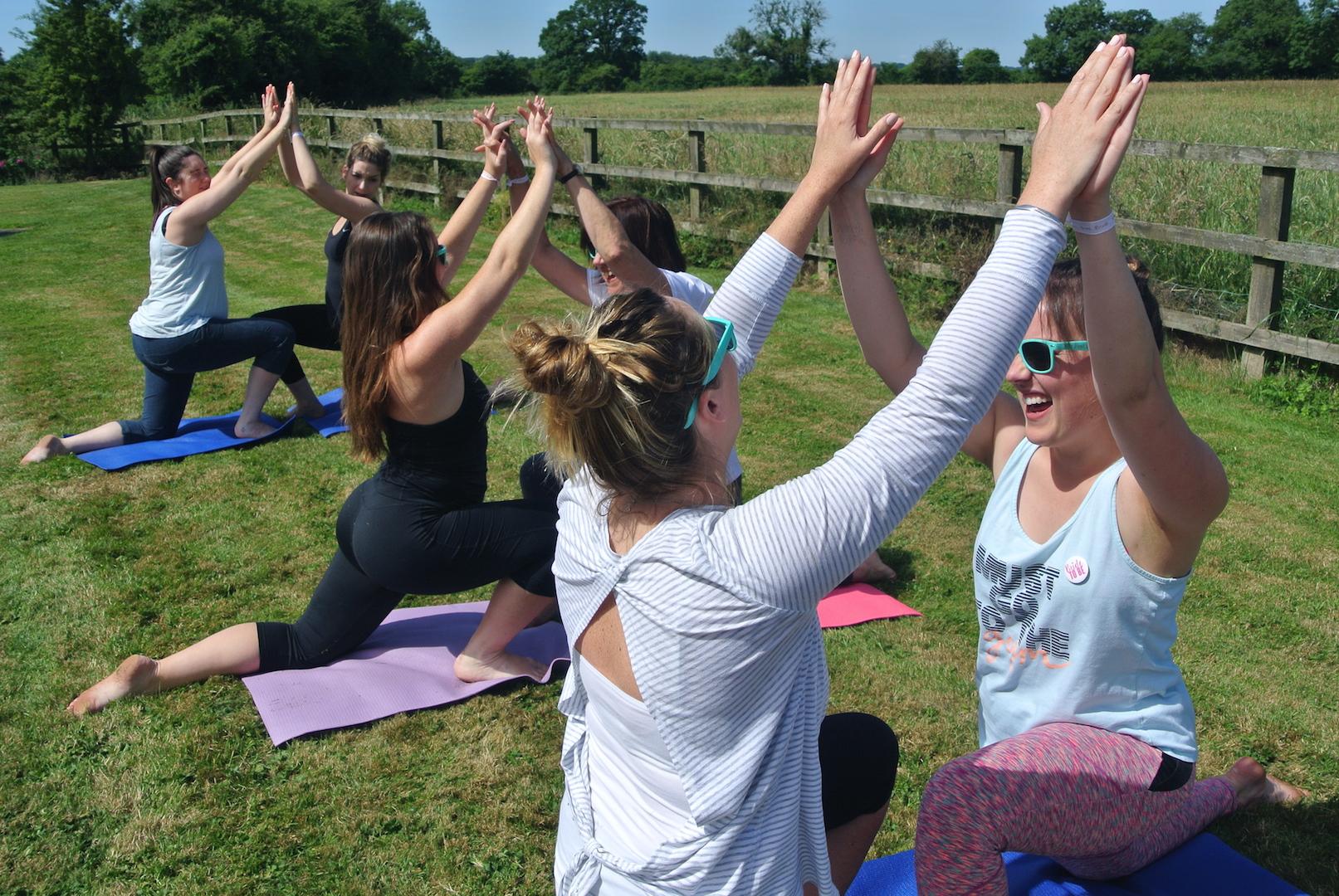 hen Partner yoga Bath Bristol